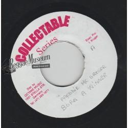 "Freddie McGregor - Born A Winner - Collectable 7"""