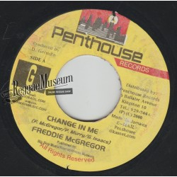 "Freddie McGregor - Change In Me - Penthouse 7"""