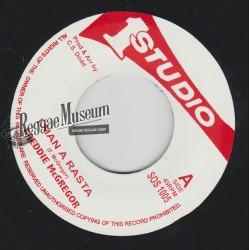 "Freddie McGregor - I Man A Rasta - Studio 1 7"""