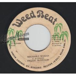 """Freddie McGregor - Miserable Woman - Weed Beat 7"""""""