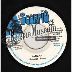 """General Trees - Tarzan - Black Scorpio 7"""""""