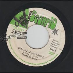 "General Trees - Tell Me If Me Wrong - Black Scorpio 7"""