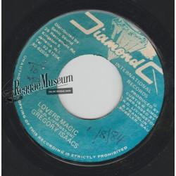"Gregory Isaacs - Lovers Magic - Diamond C 7"""