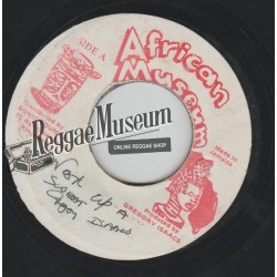 """Gregory Isaacs - Work Up A Sweat - African Museum 7"""""""