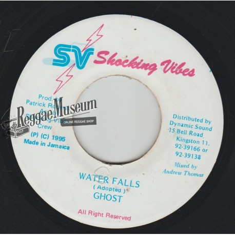 """Ghost - Water Falls - Shocking Vibes 7"""""""