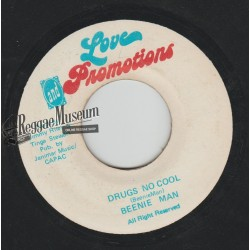 """Beenie Man - Drugs No Cool - Love Promotions 7"""""""