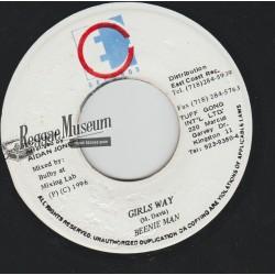 """Beenie Man - Girls Way - East Coast 7"""""""