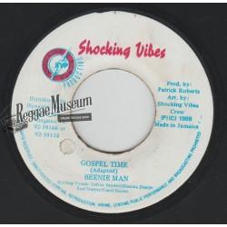 "Beenie Man - Gospel Time - Shocking Time 7"""