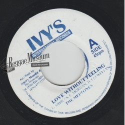 """Heptones - Love Without Feeling - IVYS 7"""""""