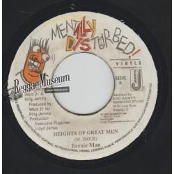 "Beenie Man - Heights Of Great Men - Mentally Disturbed 7"""