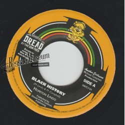 Hopeton Lindo - Black History - Dread At The Controls 7""