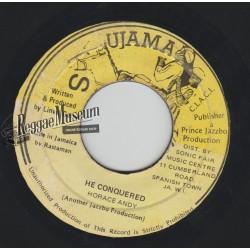"Horace Andy - He Conquererd - Ujama 7"""