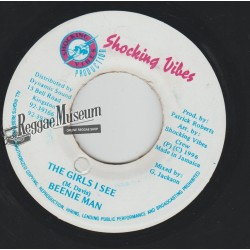 Beenie Man - The Girls I See - Shocking Vibes 7""