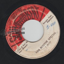 I Roy - Ken Boothe Special - Soul Beat 7""