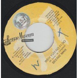 """Beenie Man - Weh Yuh No Fi Do - 357 records 7"""""""