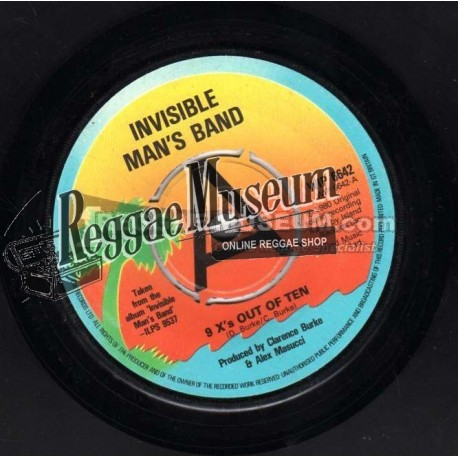 """Invisible Man Band - 9 x Out Of Ten - Island 7"""""""