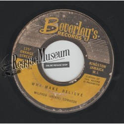 "Jackie Edwards - Why Make Believe - Beverleys 7"""