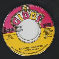"Jacob Miller - Backyard Movements - Joe Gibbs 7"""