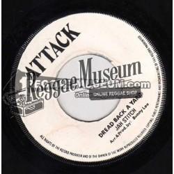 "Jah Stitch - Dread Back A Yard - Attack 7"""