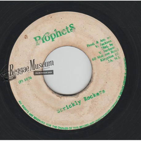 Jah Stitch - Strickly Rockers - Prophets 7""