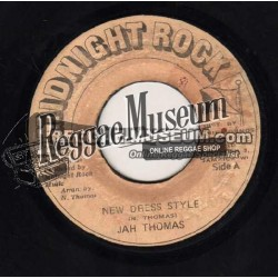 Jah Thomas - New Dress Style - Midnight Rock 7""