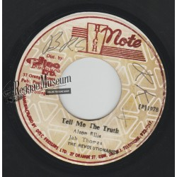 Jah Thomas - Tell Me The Truth - High Note 7""