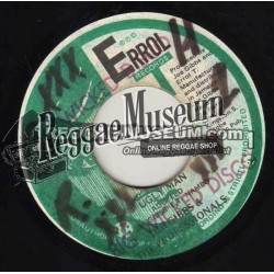Jah Thomas - The Girl Them Love Me - Errol T 7""
