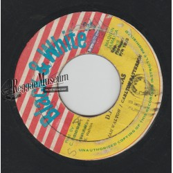Jah Walton - DJ Christmas - Black & White 7""