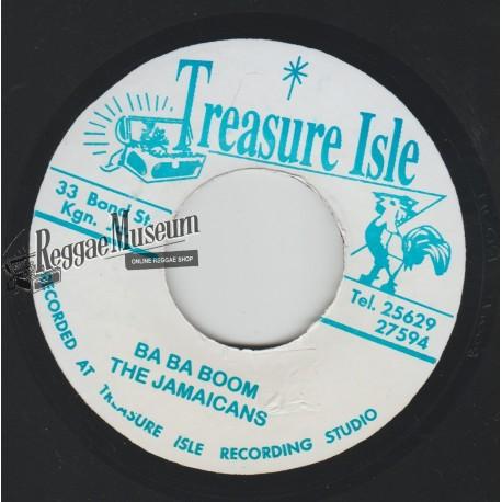 "Jamaicans - Ba Ba Boom - Treasure Isle 7"""