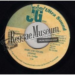 "JC Lodge - Baby Im Yours - Joe Gibbs 7"""