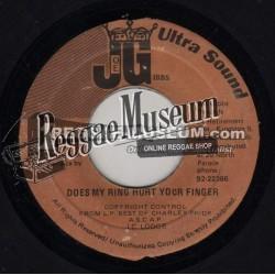 "JC Lodge - Does My Ring Hurt Your Finger - Joe Gibbs 7"""