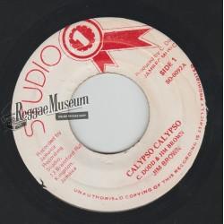 "Jim Brown - Calypso Calypso - Studio 1 7"""