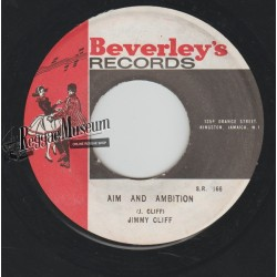 """Jimmy Cliff - Aim And Ambition - Beverleys 7"""""""