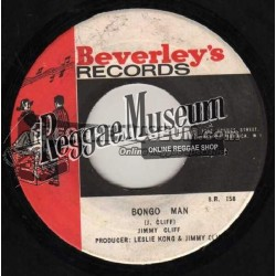 "Jimmy Cliff - Bongo Man - Beverleys 7"""