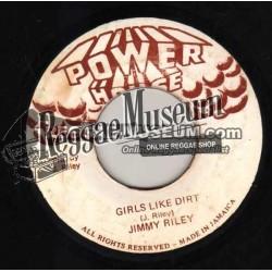 "Jimmy Riley - Girls Like Dirt - Power House 7"""