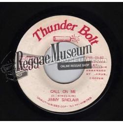 """Jimmy Sinclair - Call One Me - Thunder Bolt 7"""""""