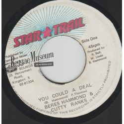 Beres Hammond & Cutty Ranks - You Could A Deal - Star Trail 7""