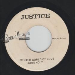 "John Holt - Winter World Of Love - Justice 7"""