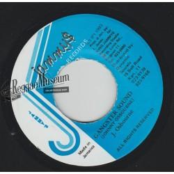 "Johnny Osbourne - Gangster Sound - Jammys 7"""