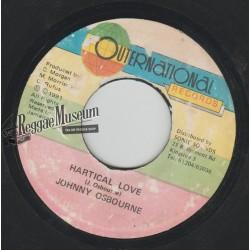 """Johnny Osbourne - Hartical Love - Outernational 7"""""""