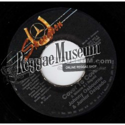 "Johnny Osbourne & Junior Delgado - Cover To Cover - Skengdon 7"""