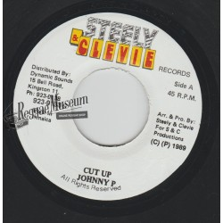 """Johnny P - Cut Up - Steely & Cleevie 7"""""""