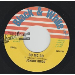 Johnny Ringo - Go Mc Go - Black & White 7""