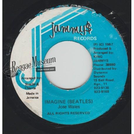 "Josey Wales - Imagine (Beatles) - Jammys 7"""