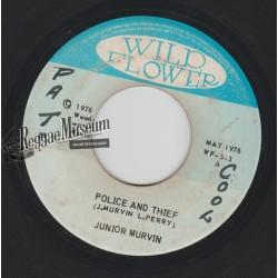 """Junior Murvin - Police And Thief - Wild Flower 7"""""""