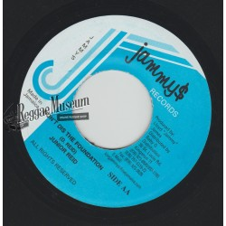 Junior Reid - Dont Dis The Foundation - Jammys 7""
