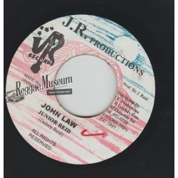 Junior Reid - John Law - JR 7""