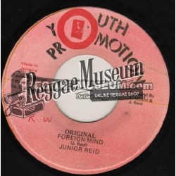 Junior Reid - Original Foreign Mind - Youth Promotion 7""
