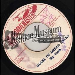 "Big Youth - House Of Dread Locks - Groovemaster 7"""