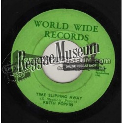 """Keith Poppin - Time Slipping Away - World Wide 7"""""""